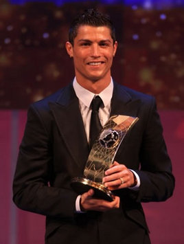Cristiano Ronaldo Crowned FIFA World Player Of The Year