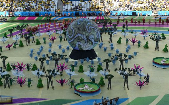 Foto Pembukaan Piala Dunia 2014 World Cup Brasil Opening Ceremony