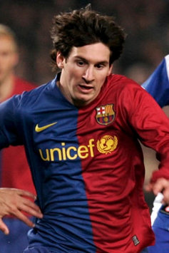 Barcelona ace Lionel Messi in action for his side