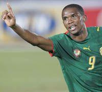 Samuel Eto'o Best Striker Cameroon