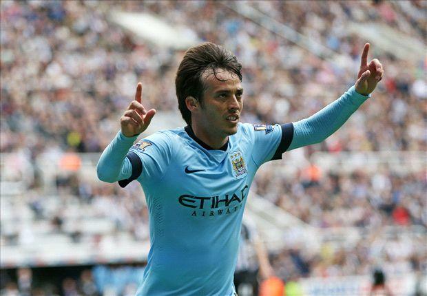Pertandingan Newcastle United Kontra Manchester City, 17/8/2014