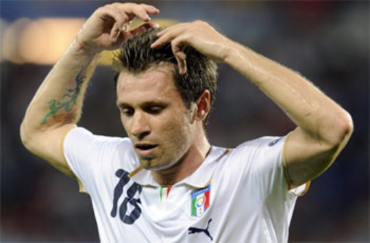 Antonio Cassano And Mario Balotelli Called Up For Italy Friendly Against Ivory Coast