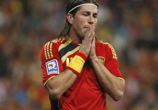 Sergio Ramos sees signs of Spanish promise after draw with Italy