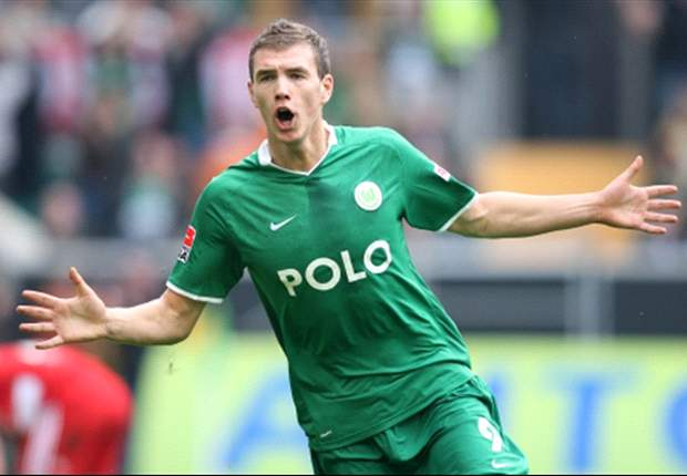 Edin Dzeko: I'm Staying At Wolfsburg, But I Wanted Milan