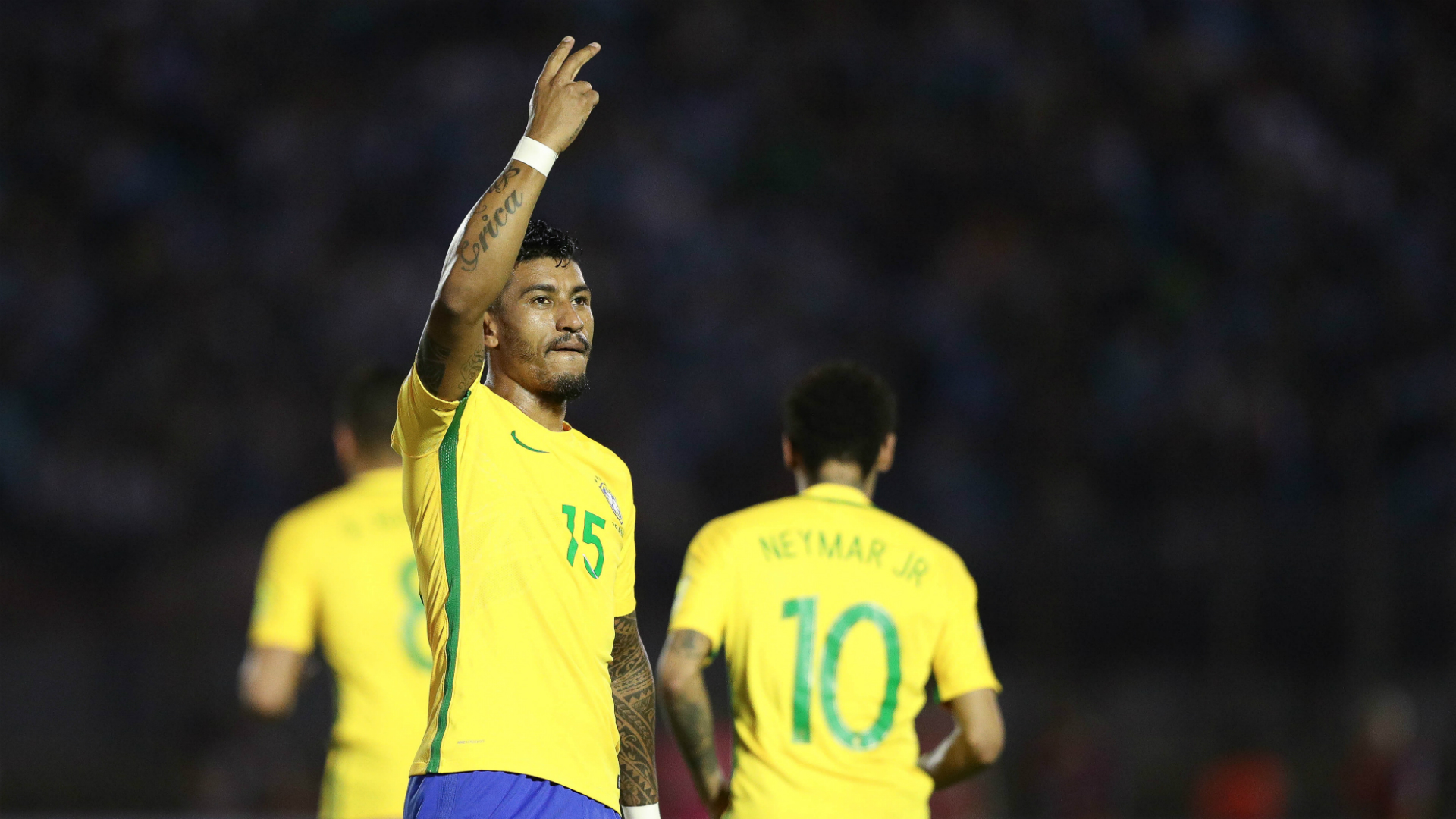 Spurred on by criticism, Paulinho scores crucial hat-trick
