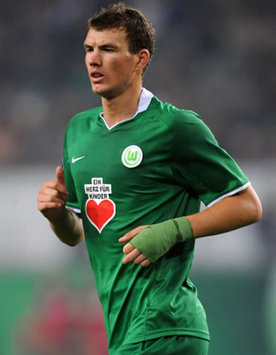Goal.com World Player Of The Week: Edin Dzeko - Wolfsburg & Bosnia-Herzegovina