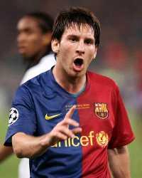 Lionel Messi, Barcelona-Manchester United  (MARCA)
