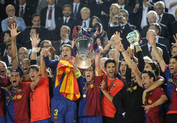 Barcelona edge out AC Milan as the Champions League's most successful team