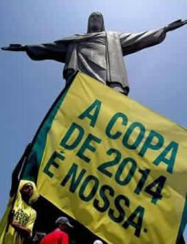 Brazil fans 2014