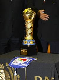 FIFA Confederations Cup: The FIFA Confederations Cup trophy (PA)