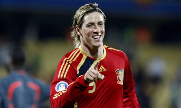 Spain Star Fernando Torres Dedicates Hat-Trick To African Fans