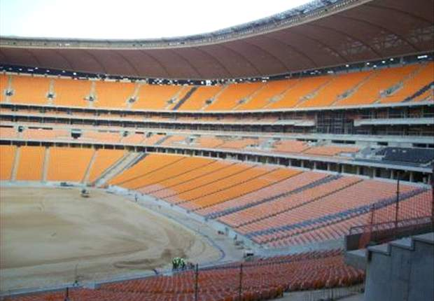 Soweto's Soccer City Stadium Looking Very Impressive