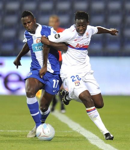 Peace Cup : Aly Cissokho (Lyon) vs Silveste Varela (FC Porto)