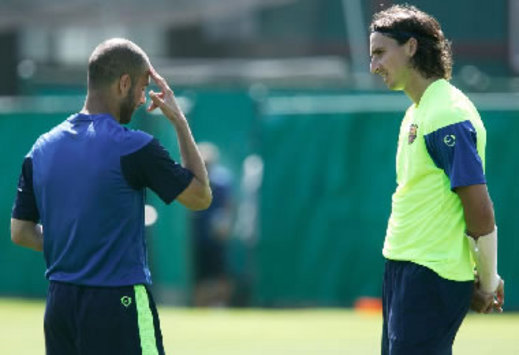 Ibrahimovic And Messi Given Gamper Green Light