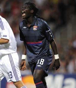 Champions League : Bafetimbi Gomis (Lyon)