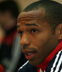 Thierry Henry - France - Press conference