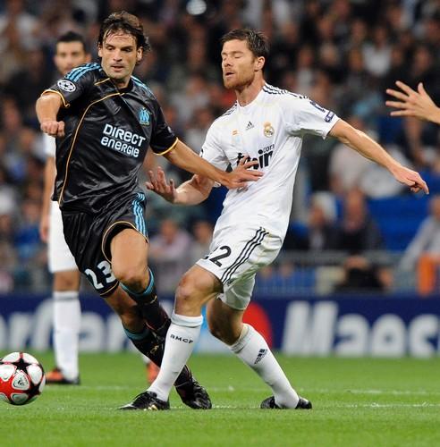 Fernando Morientes - Olympique de Marseille & Xabi Alonso - Real ...