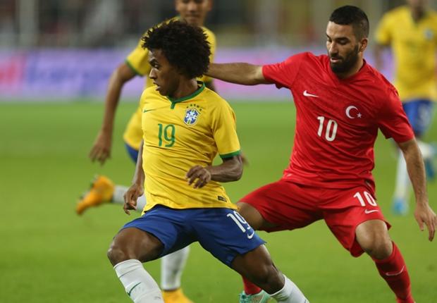 Os cinco destaques do amistoso Brasil x Turquia