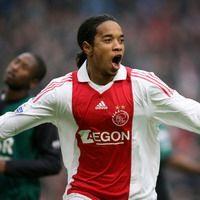 Urby Emanuelson after 2-0 against Feyenoord, Ajax - Feyenoord (foto PROSHOTS)