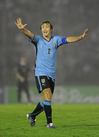 Diego Lugano - Uruguay (Getty Images)