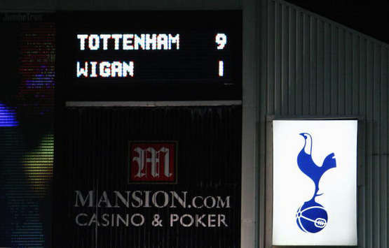 EPL: The result, Tottenham - Wigan Athletic (Getty Images)