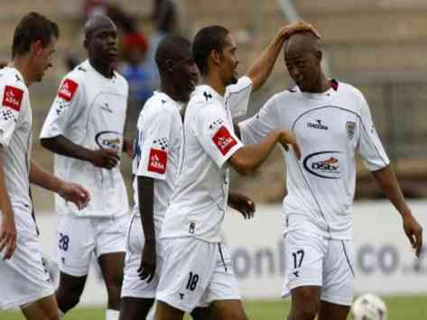 SuperSport United Celebrate A Goal