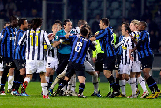 Fight - Juventus-Inter - Serie A (Getty Images)