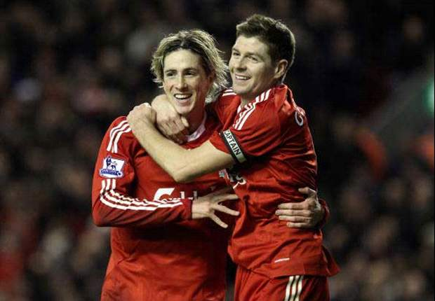 Manchester City to bid £140m for Liverpool pair Steven Gerrard & Fernando Torres - report