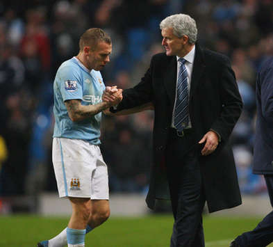 Report: Craig Bellamy And Roberto Mancini Clash In First Manchester City Training Session