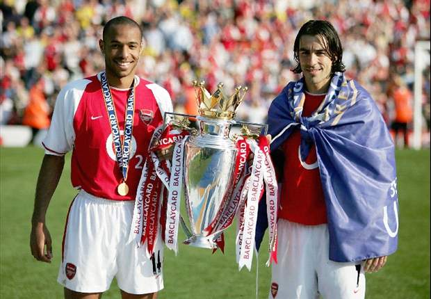 Goal.com readers vote Arsenal's 'Invincibles' as best-ever Premier League season