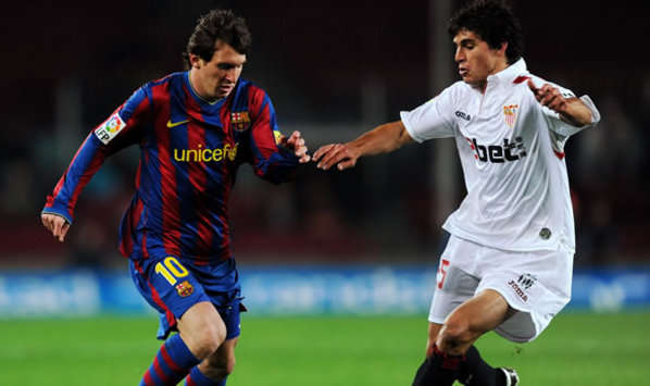 Sevilla's Diego Perotti On Liverpool Radar - Report