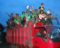 Bonekmania - fans Persebaya Surabaya (GOAL.com  / Aurelius Balakosa)