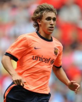 Zubizarreta reveals Marc Muniesa will be promoted to the Barcelona first team