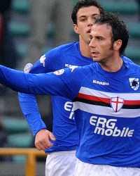 Giampaolo Pazzini - Sampdoria-Catania - Serie A (Getty Images)
