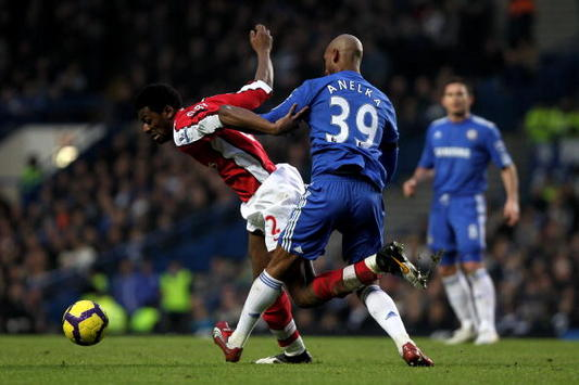 EPL: Abou Diaby - Nicolas Anelka, Chelsea v Arsenal (Getty Images)