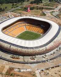 Soccer City aerial view - Johannesburg
