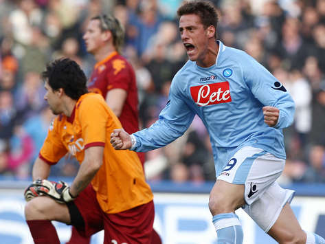 German Denis - Napoli-Roma - Serie A (Getty Images)