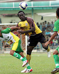 Edward Junior Wilson - Semen Padang (GOAL.com / Aurelius Balakosa)