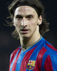 Zlatan Ibrahimovic - Barcelona (Getty Images)