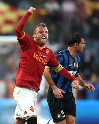 Daniele De Rossi (R), Dejan Stankovic (I) - Roma-Inter - Serie A (Getty Images)