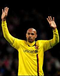 Champions Legaue: Arsenal London - FC Barcelona, Thierry henry (Getty Images)