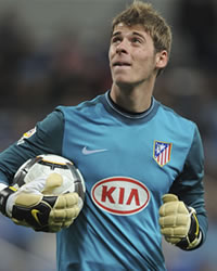 David De Gea, portero del Atlético de Madrid (Getty Images)