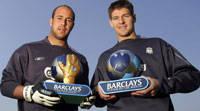 Gerrard & Reina of Liverpool