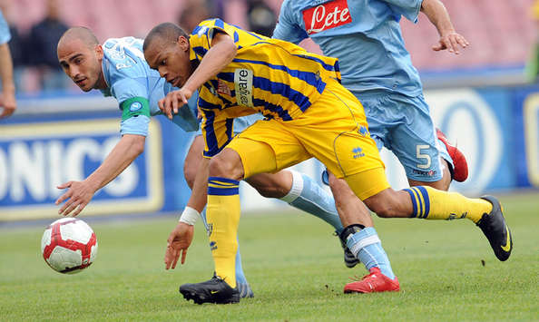 Cannavaro & Biabiany - Napoli-Parma - Serie A (Getty Images)