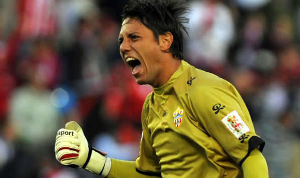 Almeria Keeper Diego Alves Flattered By Valencia Interest