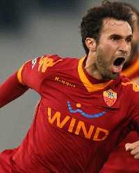 Mirko Vucinic - Lazio-Roma - Serie A (Getty Images)