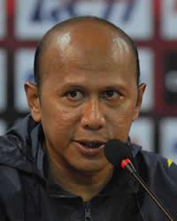 Rahmad Darmawan - Sriwijaya FC Palembang (GOAL.com / Bobby Redonia)