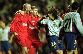El Liverpool se zafó del Barça en semifinales.