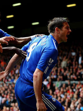 EPL : Frank Lampard ,Liverpool - Chelsea(Getty Images)