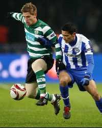 UEFA Europa League, Cicero, Adrien Silva ,Hertha BSC Berlin and Sporting Lisbon (Getty Images)
